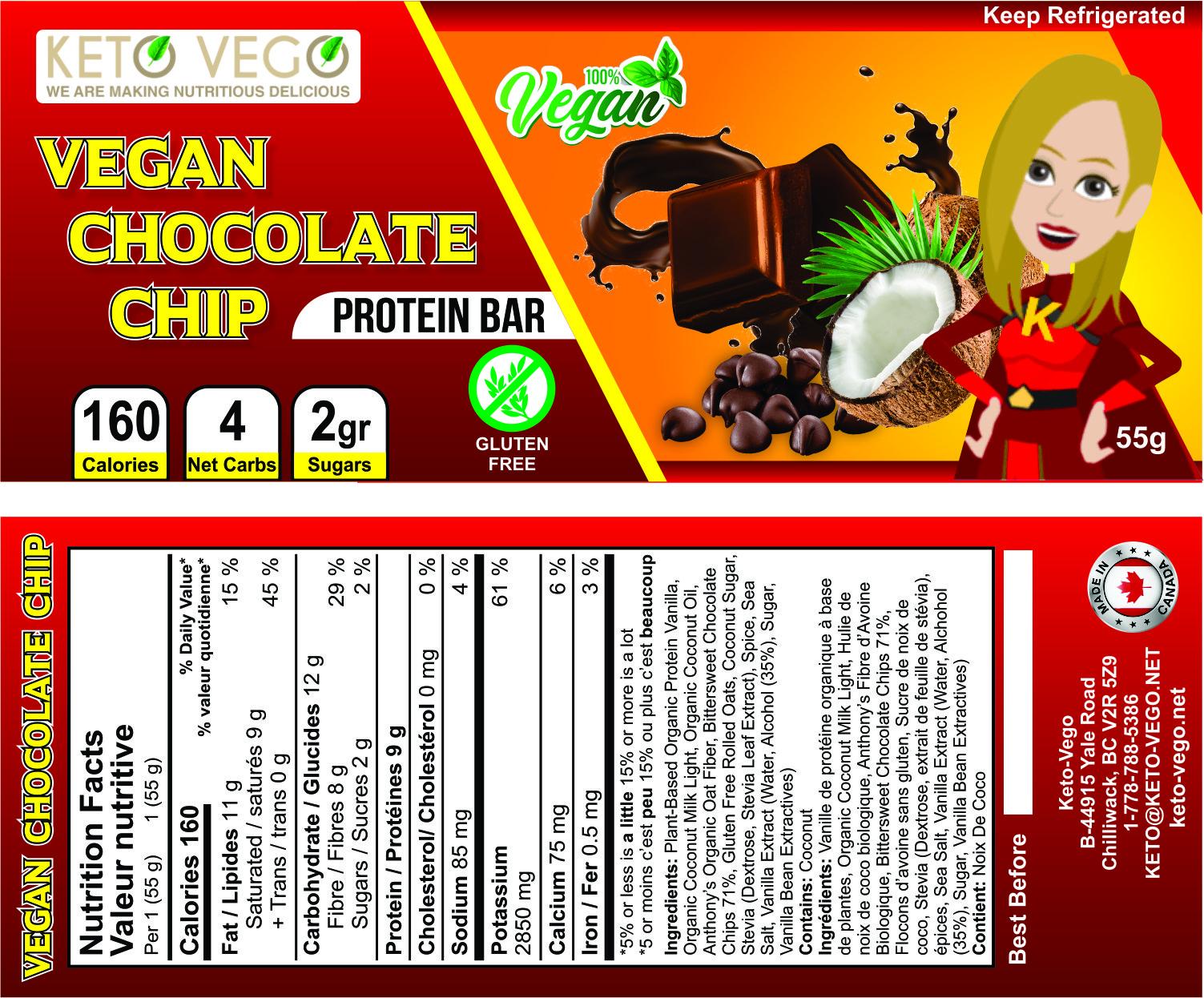 Keto Vego - Vegan Chocolate Chip