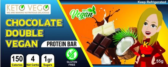 Vegan Chocolate Double